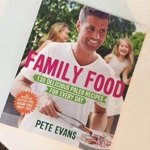 PETE EVANS PALEO  GLUTEN FREE FAMILY FOOD cookbook